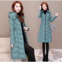 新款冬季羽绒棉衣韩版收腰显瘦洋气加厚棉袄棉服女中长款外套