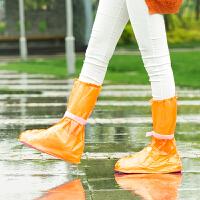 旅行防雨鞋套男女防滑耐磨加厚雨靴套下雨天防水鞋套学生儿童雨鞋