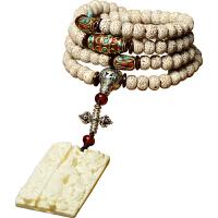 菩提子手串男女款佛珠饰品108颗高密正月象牙果吊坠手链项链