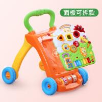宝宝学步车手推婴幼儿童学走路助步车学步推车玩具