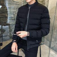 男士棉衣2018新款冬季外套潮短款棉袄修身羽绒加厚韩版冬装