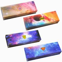 韩国创意儿童玩具收纳盒 纸质文具盒 超级英雄笔袋 叮当猫笔袋 环保礼品单层大容量笔盒简约潮 海绵单层文具盒盒