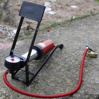 高压车载充气泵单缸自行车打气泵摩托电动车用轮胎脚踏便携打气筒