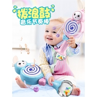婴儿玩具0-1岁半摇铃新生幼儿男宝宝女孩8拨浪鼓7益智3个6-12个月