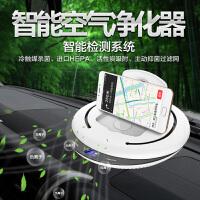 智能车载空气净化器 快速进化,车内空气雾霾焕然一新 高清显示屏