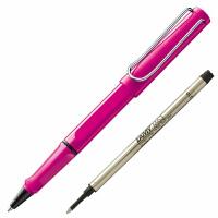 德国LAMY/凌美safari 狩猎者 粉色/玫红 签字笔/宝珠笔 凌美宝珠笔 水笔 学生商务签字笔 凌美签字笔礼品