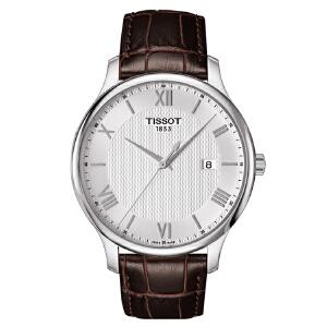 天梭TISSOT-俊雅系列 T063.610.16.038.00 石英男士手表【好礼万表 礼品卡可购】