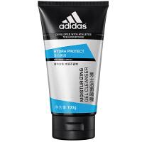 阿迪达斯(adidas) 男士洗面奶深层 清洁控油保湿洁面乳 男士活力保湿洁面�ㄠ�100g