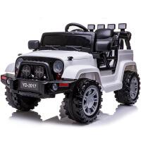 婴儿童电动车男小孩越野童车四轮可坐遥控汽车女宝宝玩具车可坐人