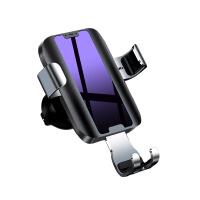 机乐堂(JOYROOM) 创意车载出风口导航仪表台重力手机支架 仪表盘支架 黑色
