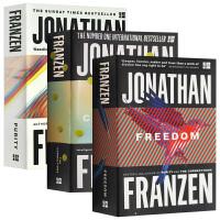 华研原版 纯度+自由+纠正 正版进口英文原版小说 Purity Freedom The Corrections 乔纳森