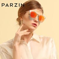 帕森偏光太阳镜女士时尚复古潮个性彩膜优雅猫眼驾驶墨镜9898