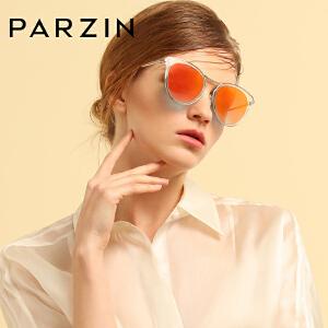 帕森新款偏光太阳镜女士时尚复古潮个性彩膜优雅猫眼驾驶墨镜9898
