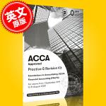 现货 ACCA考试 新版 财务会计 练习册 英文原版 Financial Accounting Practice&Re