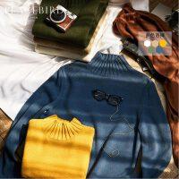 太平鸟男装 冬季高领毛衣男保暖针织毛套衫休闲青年针织衫韩版潮