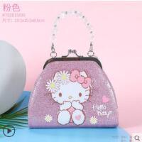 女童斜挎包小女孩公主可��r尚小包����手提包HelloKitty�和�包包