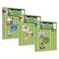 Harcourt Family Learning - Spelling Skills Grade 1-3 哈考特家庭辅导