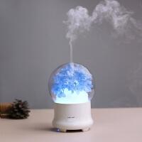超声波香薰机加湿器香薰炉香薰灯插电精油灯家用卧室喷雾机浪漫