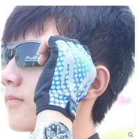 新款手套 男士户外休闲运动半指手套 骑行/骑车/健身舒适薄手套