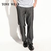 TONYWEAR汤尼威尔商务棉涤弹力休闲裤男士长裤西裤春款