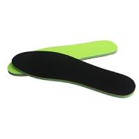 舒适跑步篮球军训透气吸汗减震加厚大码弹力防滑男女运动鞋垫 黑色 双层二用厚6.5MM