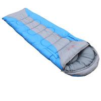 户外睡袋厚成人冬季睡袋保暖可伸手睡袋室内午休
