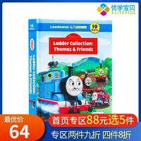 儿童英文原版绘本Thomas and Friends Learning Ladder小火车托马斯和朋友们 精装合辑 1