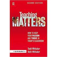 【预订】Teaching Matters 9781138170995