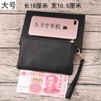 皮零钱包拉链短款钱包女软皮羊皮硬币包卡包简约小钱袋男士皮夹