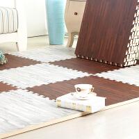 木纹泡沫地垫儿童宝宝爬行垫客厅卧室拼接地毯榻榻米地垫