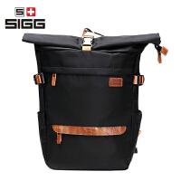 瑞士SIGG个性款双肩包男女休闲户外旅行包运动都市背包学院风