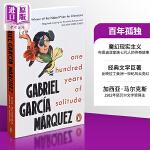 马尔克斯:百年孤独 英文原版 Marquez One Hundred Years Of Solitude 经典文学