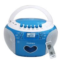 熊�(PANDA) CD-350 DVD�妥x�C胎教�C插卡�音收��C磁��USB播放器MP3播放�C收音�C(�{色)
