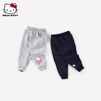 hellokitty女童长裤2021春季新款童装运动裤婴儿宝宝洋气裤子外穿