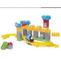 美高 益智拼装积木 小火车托马斯 参观城堡