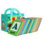 拉拉布书婴幼儿益智玩具启蒙与认知宝宝早教 婴儿启蒙布卡-趣味字母