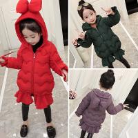 女童棉衣外套女宝宝小女孩洋气儿童棉袄时髦