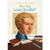 【预订】Who Was Louis Braille?