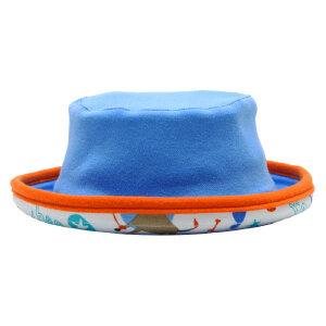 【加拿大童装】GagouTagou宝宝帽子夏款男童遮阳帽薄款太阳帽防晒帽子