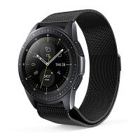 表带通用lte智能手表表带米兰尼斯不锈钢带20mm/22mm替换腕带非男女陶瓷 46mm三星galaxy watch表