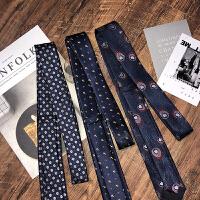 2018新款韩版领带男士商务花纹领带新郎结婚英伦风礼盒装个性配饰