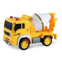 文艺1:20仿真工程车模型 儿童益智声光玩具车 泥土车 挖掘机吊车