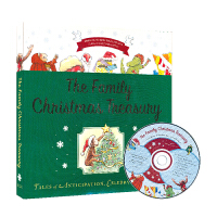 The Family Christmas Treasury 乔治猴 圣诞故事合集附CD 英文原版