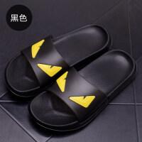 夏季凉拖鞋韩版男士潮流一字拖浴室洗澡软底居家室内外凉拖鞋