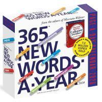 英文原版 365个新单词 2020年日历 韦氏词典 每天一页 进口台历 365 New Words-A-Year Pa