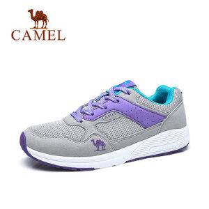camel 骆驼男鞋 秋季新品时尚运动透气休闲轻盈情侣跑鞋潮流鞋