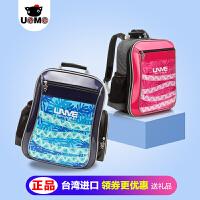 【支持礼品卡】2017新款2-5年级小学生书包台湾unme减负护脊背包儿童书包男童女童双肩包
