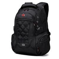 SWISSGEAR瑞士军刀双肩包 男女大容量15.6英寸电脑包 男女休闲双肩背包旅行书包