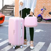 韩拉杆箱28寸万向轮行李箱拉杆女旅行箱包24寸密码箱26寸学生箱