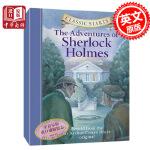 【中商原版】福尔摩斯的冒险 英文原版小说 The Adventures of Sherlock Holmes 经典探案